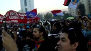 Banda de Bronces en Plaza de la Dignidad viernes 06 de Marzo 2020
