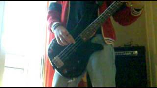 freak on a leash bass cover