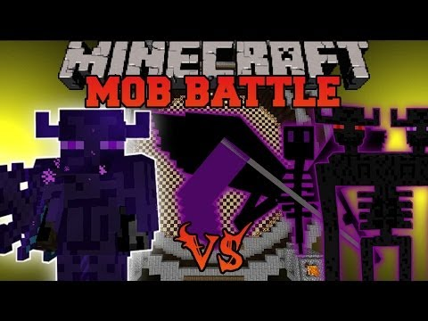 FARLANDER VS TONS OF ENDERMEN - Minecraft Mod Battle - Mob Battles - Mods