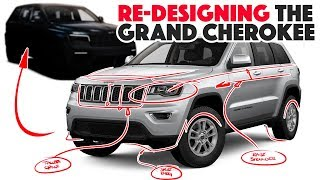 2021 Jeep Grand Cherokee Re-design - Spy photos are out!