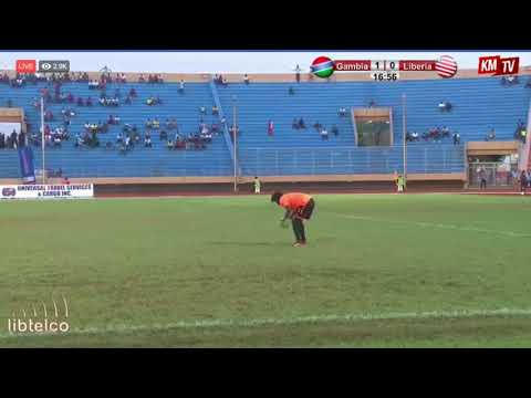 WAFU Tournament 2018 Final Liberia vs  Gambia 1st half