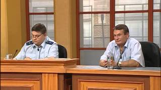 Федеральный судья. Подсудимый Комаров (причинение тяжкого вреда здоровью).