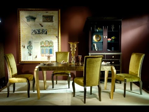 High end Formal Dining Room Sets - YouTube