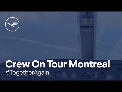 Crew On Tour  Off to Montreal | Lufthansa