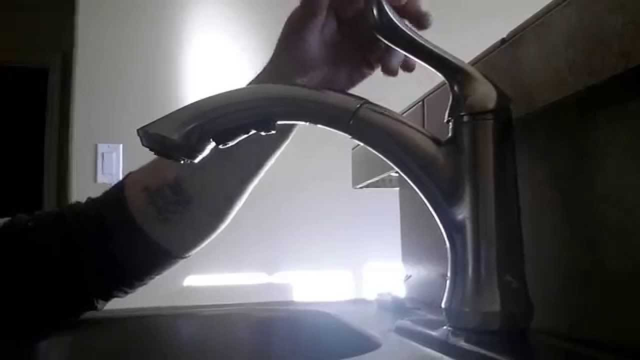 Change Delta kitchen sink cartridge - YouTube