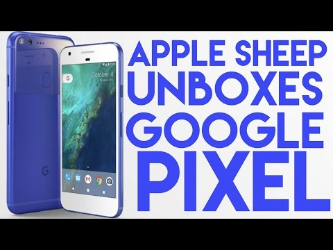 Apple Sheep unboxes Google Pixel