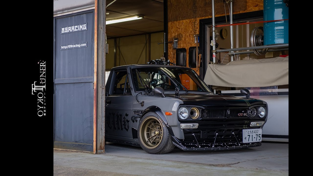 This Guy Built a Nissan Sunny Hakosuka GT-R Pickup Truck - The Drive