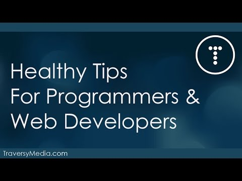 Healthy Tips For Programmers & Web Developers
