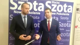 WYBORY 2015: Poseł Patryk Jaki wspiera kandydata z Inowrocławia