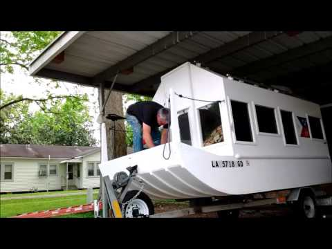 Camping boat River Song modifications