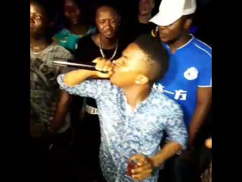 Liberia super Star Quincy B last Performance before his death.