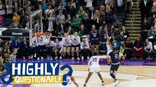 Which of Arike Ogunbowale's Notre Dame game-winners was better? | Highly Questionable | ESPN
