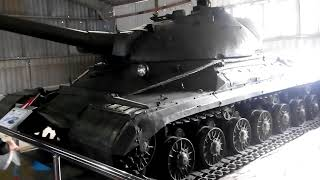 Музей бронетанковой техники. Кубинка. Павильон советские тяжёлые танки.