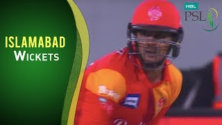 Match 3: Islamabad United vs Peshawar Zalmi - Islamabad Wickets