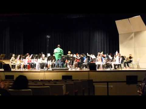 """Firework"" - Wester Middle School Honors Band"