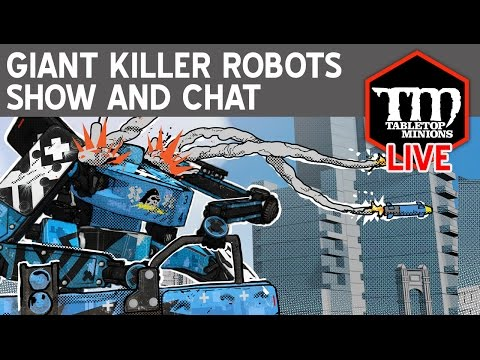 Giant Killer Robots Show and Chat LIVE