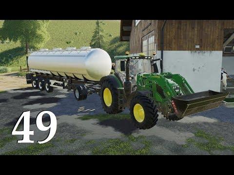 Farming Simulator 19 Продажа молока + Новый трактор  Фермер # 49
