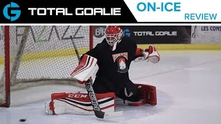 CCM Premier Pro Leg Pads, Catch Glove, and Blocker // On-Ice Review with Matt from CCM // Montreal