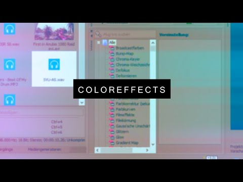 Sony Vegas Tutorial: How to make Colors like Ves [GER]