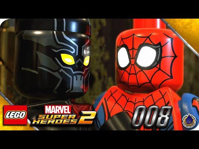 Let's Play LEGO MARVEL SUPERHEROES 2 💥 [008] Zeig die Krallen, Panther!