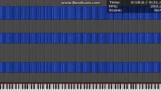 [Lag Tester] Piano Style - 138,240 Notes Lag teste...