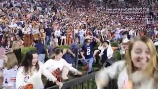 Auburn Students Rush Field After Beating Bama 2019 Iron Bowl