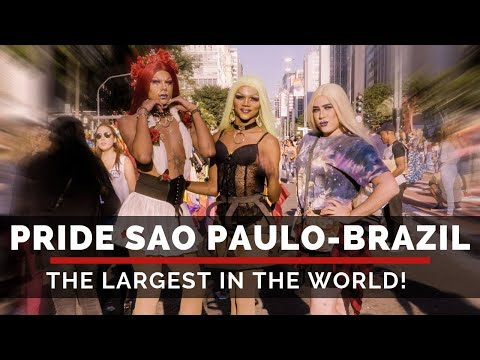 PRIDE Sao Paulo - The Largest In The World