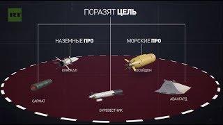 فيديو RT : مقارنة بين الأسلحة الروسية الجديدة التي يكشف عنها لأول مرة