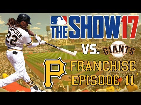 MLB 17 The Show: Pittsburgh Pirates Franchise - NL WILD CARD ROUND! [Y1NLWC EP11]