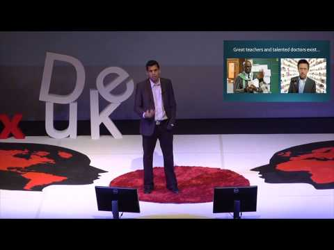 Bending the cost curve in health care and education | Aaron Chatterji | TEDxDuke