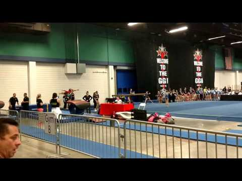 Addison Edwards - Vault 2017 GGI, Greensboro NC-  Hart Gymnastics King, NC Score 9.200