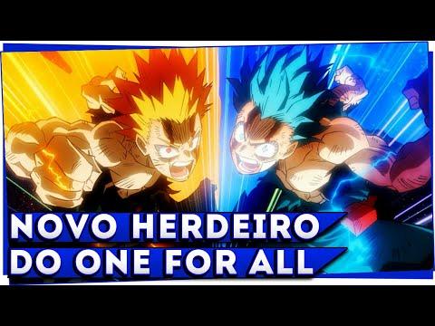 BAKUGO RECEBE O ONE FOR ALL NO FILME MY HERO ACADEMIA HEROES RISING