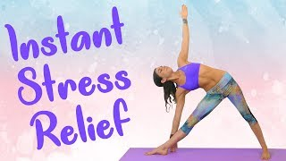 Yoga, Pranayama & Meditation for Anxiety | 30 Minute Class with Breathing Exercises, Jess Timsit
