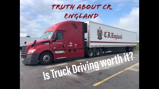 Truth about CR England and truck driving