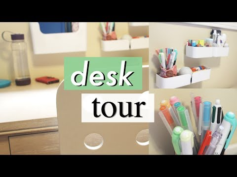 Desk Tour 2017   Organization and Studying