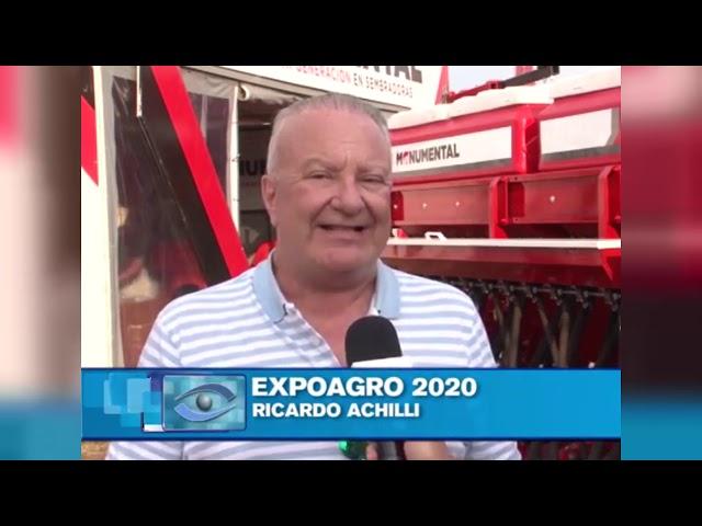 Sembradoras Monumental, nuestro gerente comercial nos da detalles de EXPOAGRO 2020