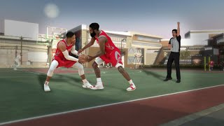 99 OVR JAMES HARDEN and RUSSELL WESTBROOK at the PARK in NBA2K19