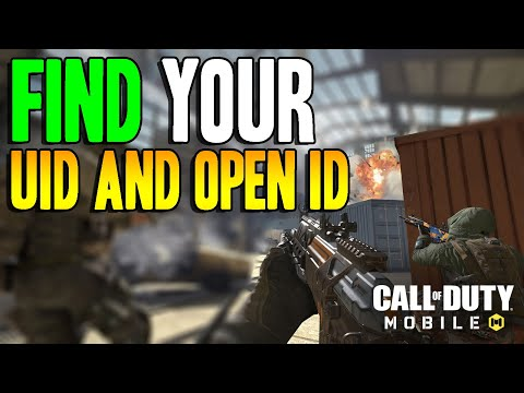 How To Find Your UID And OpenID - COD Mobile