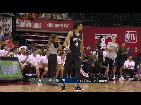 3rd Quarter, One Box Video: Indiana Pacers vs. San Antonio Spurs