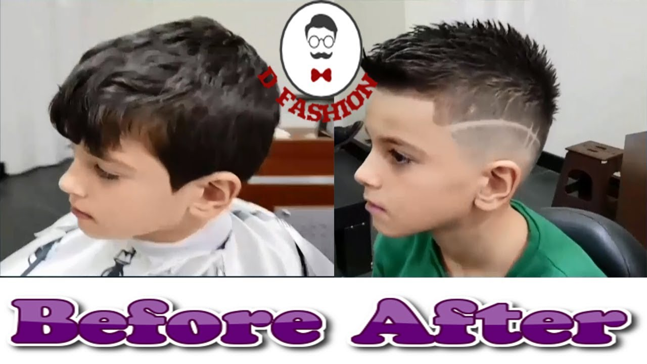 Short Spiky Haircut For Boys Awesome Stylish Haircut For Kids New