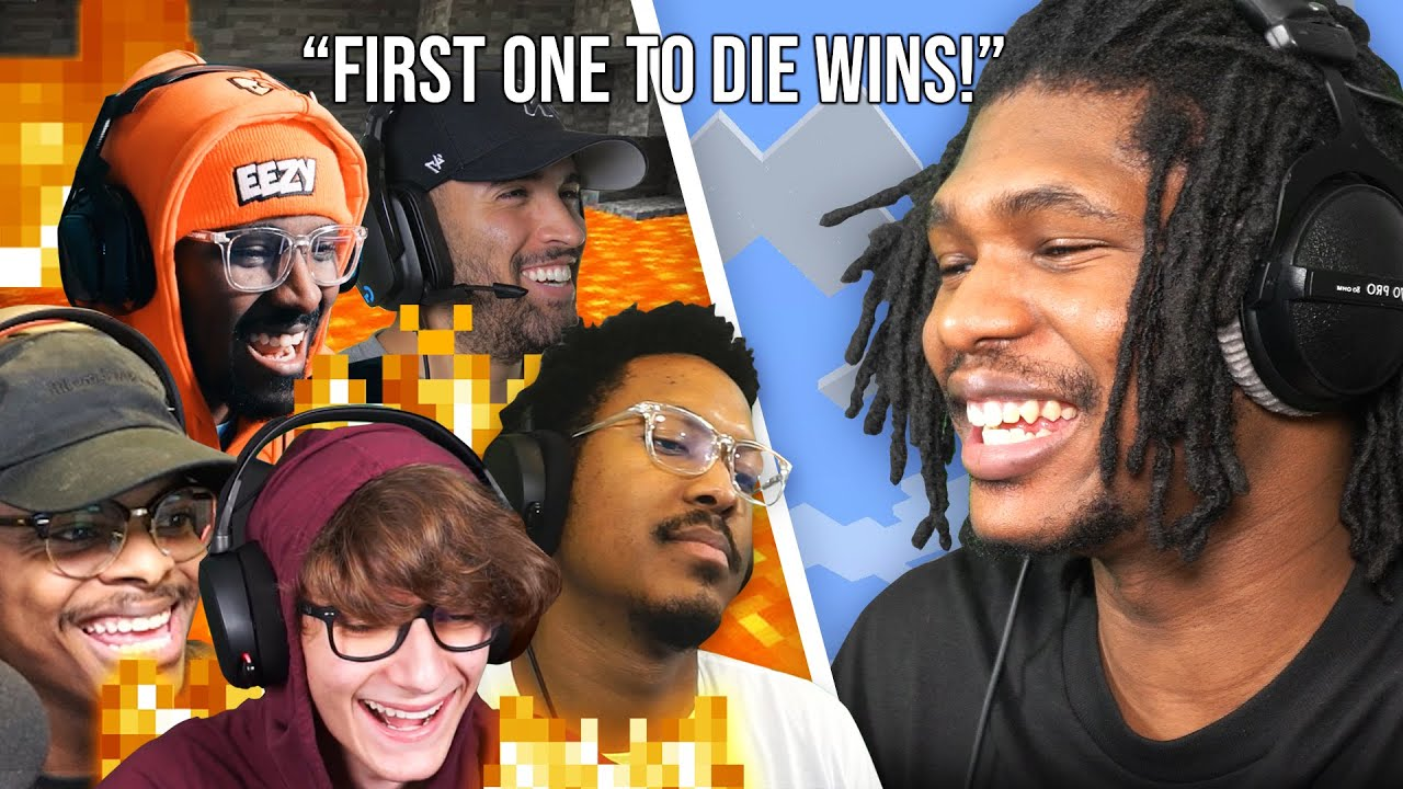 Minecraft Meme Olympics w/ My Friends That Know Nothing About The Game!