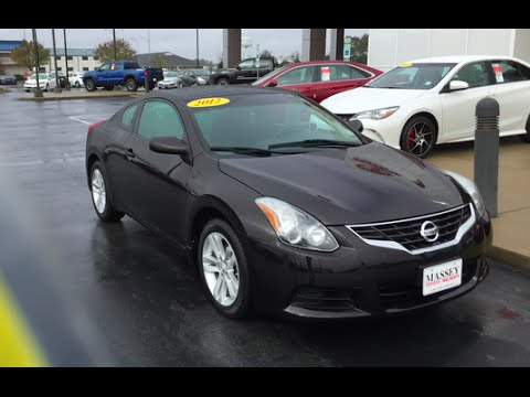 2012 nissan altima coupe 2 5s full tour start up at massey toyota youtube. Black Bedroom Furniture Sets. Home Design Ideas
