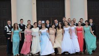 Кадетский балл в Брянске.первый НОВОГОДНИЙ бал кадетов 2017 год