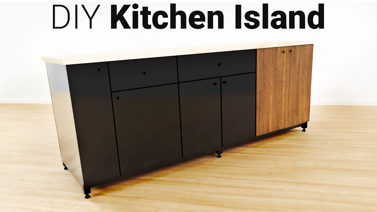 Kitchen Island With Shaun Boyd