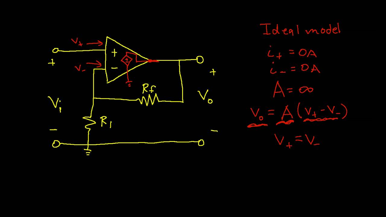 Op Amp Circuit Analysis Non Inverting Amplifier Edited Youtube 100wvariableresistorsimulator Amplifiercircuit