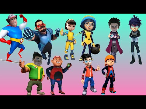 Boboiboy And Agent Ali Characters Funny Head Swap Memes