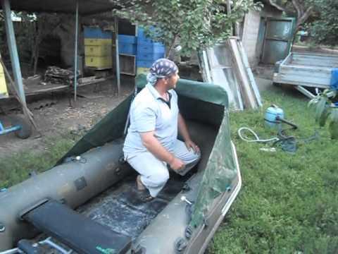 надувная лодка с мотором для рыбалки