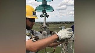 Electrician uzatish liniyasi 400 kV