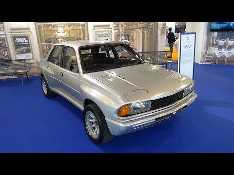 1980 - 1981 Peugeot 305 V6 Sport - Auto d'Epoca Padova 2017