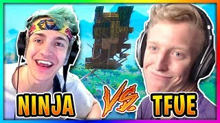Ninja & Tfue Finally 1v1 To See Who is the Best Fortnite Player!